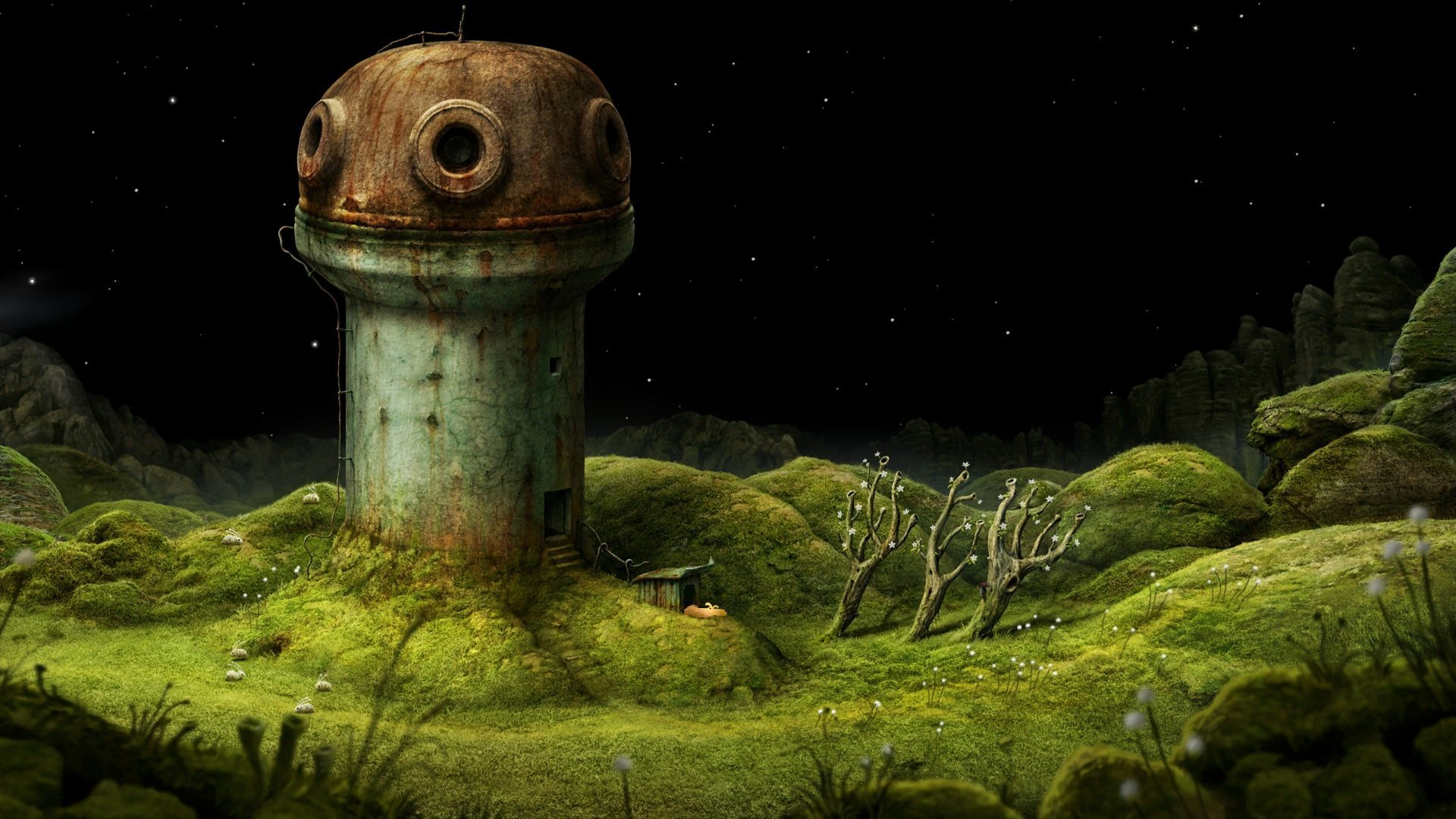 Captura de Samorost 3 d'Amanita Design