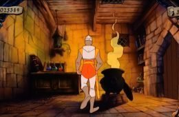 Captura de pantalla de Dragon's Lair