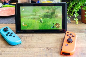Fotografia d'una Nintendo Switch