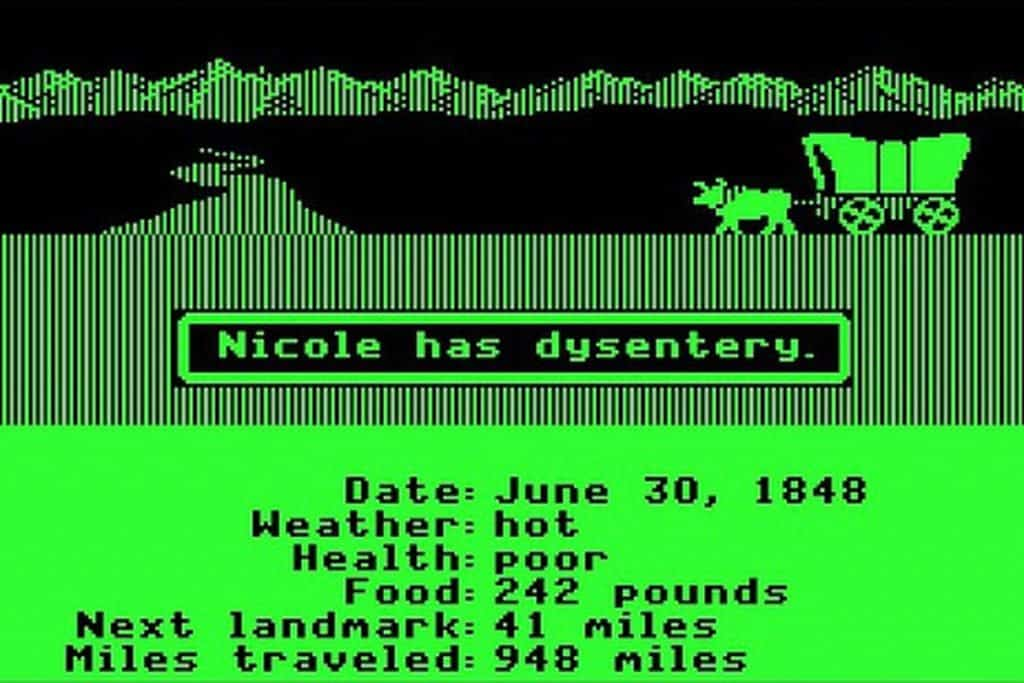 The Oregon Trail del 1971